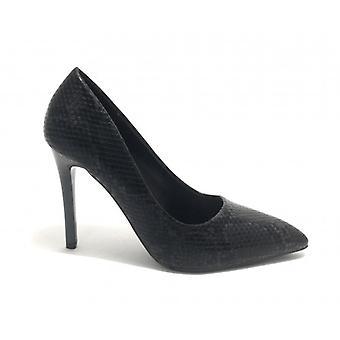 Women's Shoes Décolleté Gold&gold Tc 95 Ecopelle Black Python Print D20gg07