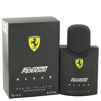 Ferrari Scuderia Black Eau De Toilette Spray av Ferrari 2.5 oz Eau De Toilette Spray