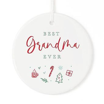Beste Oma Ever-Ornament