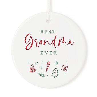 Meilleur grand-mère Ever-ornement