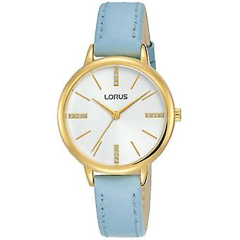 Lorus RG214QX8 Blue Leather Strap Ladies Watch
