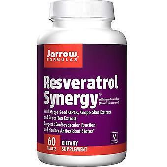 Jarrow Formulas Resveratrol Synergy Tabs 60