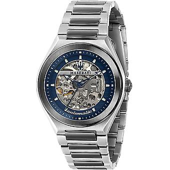 Mens Watch Maserati R8823139003, Automatisk, 40mm, 10ATM