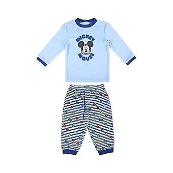 Children's pyjama mickey mouse blue top