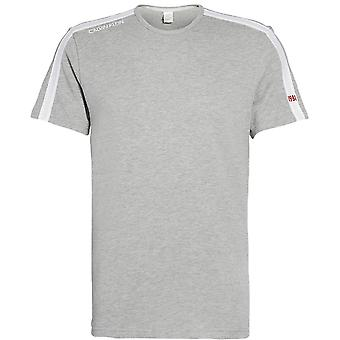 Calvin Klein camiseta de manga curta, Heather Grey, grande