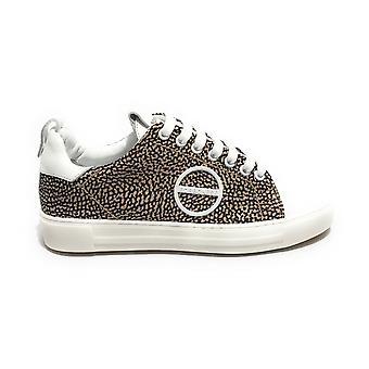 נעלי נשים עור בורבון ונעלי ניילון לבן / אופ טבעי Ds21bo04 6du924-x51