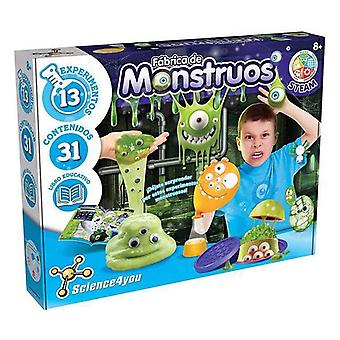 Educational Game Fábrica Monstruos Slime Science4you