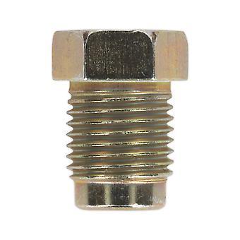 Sealey Bn10100Sm freno tubo tuerca M10 X 1Mm corto hombre Pack de 25
