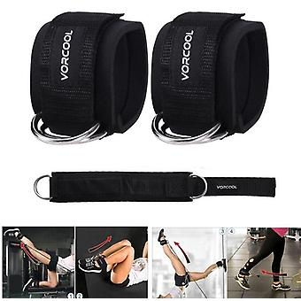 Ankle Cuffs For Gym Workouts Cable Machines Leg Exercises