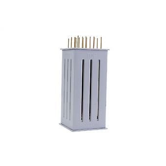 döner-Hersteller 26 x 12 cm weiß 16 Stäbchen