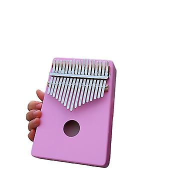 Kalimba Thumb Piano 17 Keys Portable Musical Instrument For Kids Purple