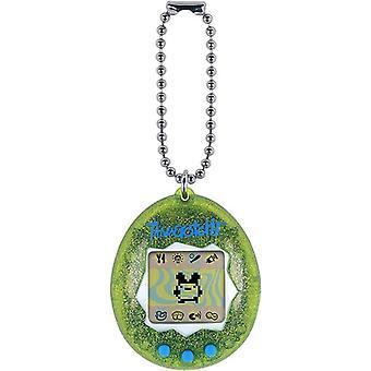 Original Tamagotchi Green Glitter USA import