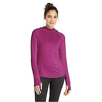 Brand - Core 10 Women's (XS-3X) Cozy Fitted Workout Long Sleeve Hoodie