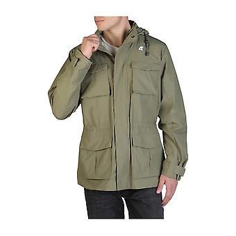 K-Way - Clothing - Jackets - K00B9J0-V15 - Men - darkseagreen - XXL