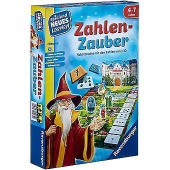 FengChun 24964 - Zahlen-Zauber - Spiele und Lernen fr Kinder, Lernspiel fr Kinder ab 4-7 Jahre,
