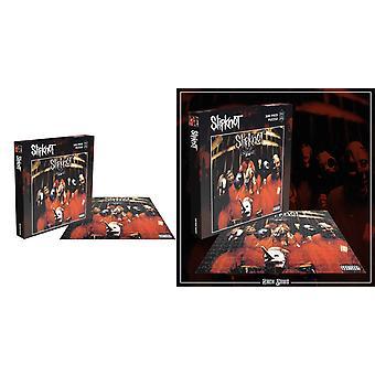 Slipknot Jigsaw Puzzle Álbum debut cubrir nueva pieza oficial negro 500