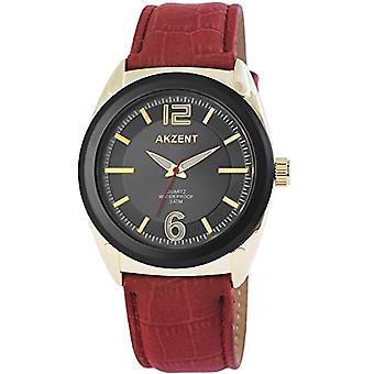Akzent - Reloj de pulsera para hombres, cuarzo, diferentes materiales SS7505000009