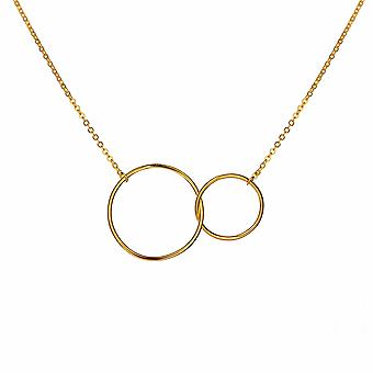 Eudora - Unity Links Icons Necklace - 40cm +3cm extender - Gold - Jewellery Gifts for Women from Lu Bella