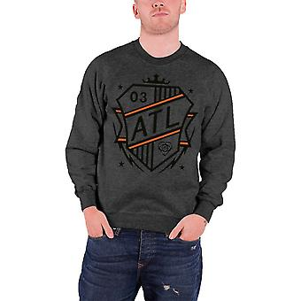 All Time Low Shield Logo Official Mens New grey Sweatshirt