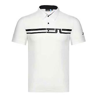 Men's Comfortable Breathable Quick-drying Golf Short-sleeve  T-shirt