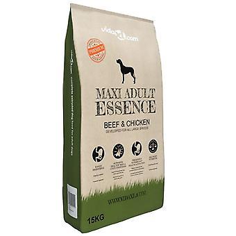 Premium Hundefutter Dry Maxi Adult Essence Beef & Amp; Amp; Huhn 15 Kg