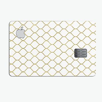 White And Gold Foil V1 - Premium Protective Decal Skin-kit For The