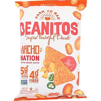 Beanitos Chip Whtbn Nacho Chs, Tilfelle av 6 X 4.5 Oz