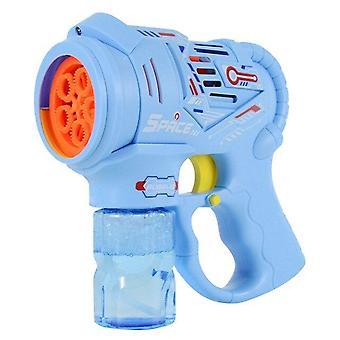 Sommer Kinder Outdoor Elektrische Blasenmaschine Spielzeug Outdoor Aktivitäten Und Geburtstag (Blau)