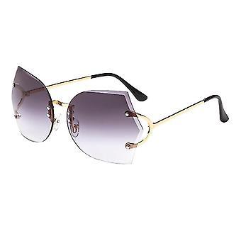 Rimless Shades Ocean Slnečné okuliare Módne trim okuliare Farebné slnečné okuliare