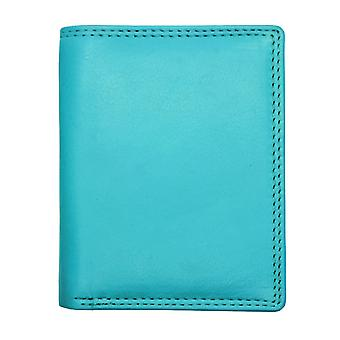 Soft Leather Card Holder Note Section