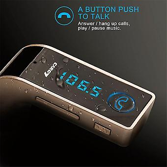 Car Mp3 Player Fm Transmitter Bluetooth Hands-free Usb Charge Interface Player
