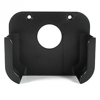 Black Square Plastic Media Player Wall Mount Bracket- Stand Holder Case