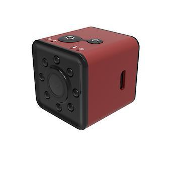 Wifi كاميرا تجسس، عالية الوضوح واسعة زاوية 1080P كاميرا الرؤية الليلية (الأحمر)