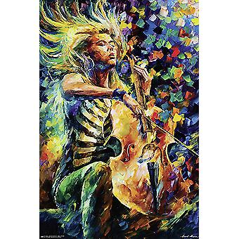 Rhapsody Poster Leonid Afremov  91,5 x 61 cm