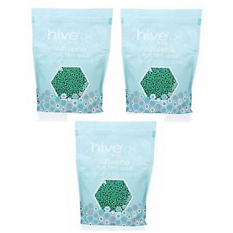 Hive Of Beauty 3 For 2 Paraffin Wax Azulene Hot Film Wax Pellets 700g