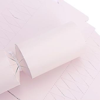 SISTA FÅ - 10 vackra rosa crackerbrädor & snappy remsor - DIY Make & Fill Your Own