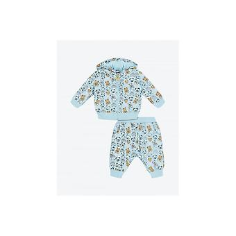 Moschino Baby Multi Logo Hooded Tracksuit