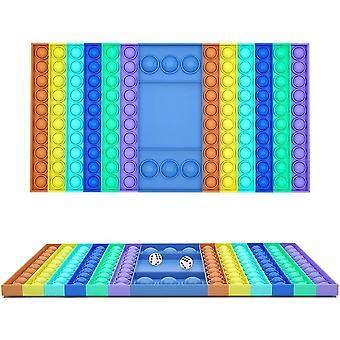 Pop det spill Plop Up Fidget - store fidget leker pop det leketøy sensorisk rektangel