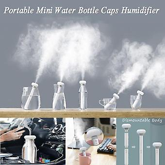Mini Portable Water Bottle Cap Steam Air Humidifier With Usb