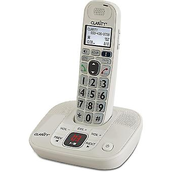 Satellite phones amplified cordless phone with digital answering system