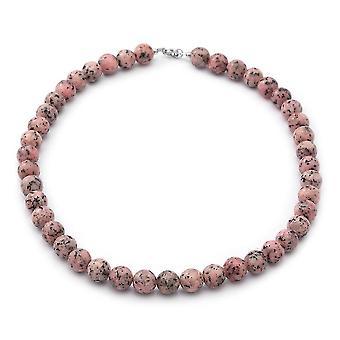TJC Silber Perle String Halskette für Frauen gestempelt Geschenk für Frau/Mutter 18 ''