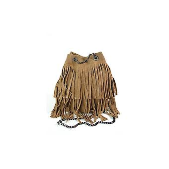 Vera Pelle Zamszowa Camel WL45C everyday  women handbags