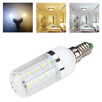 E14 7w 36 Smd 5730 Silver Side Light Led Corn Bulb Pure/warm White 110v/240v