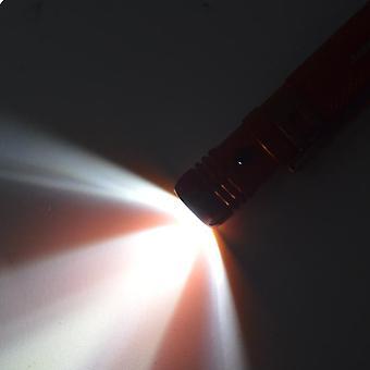 Korkea kirkkaus Led Light Alumiiniseos Kannettava Taktinen Kynä Liukumaton