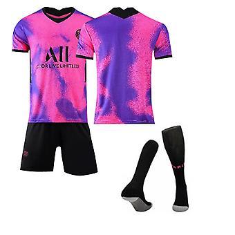Psg No Number , Camiseta del Equipo de París-tercera camiseta de visitante, Equipo de París Tercera visitante, Ropa infantil