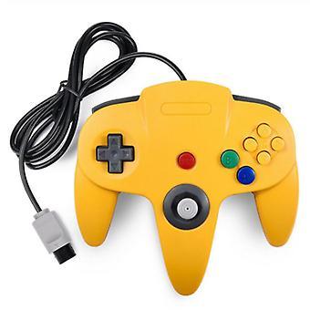 מתאים USB חוטי N64 בקר Gamepad ג'ויסטיק Gamepad קלאסי 64 קונסולת משחק