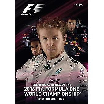 F1 2016 Official Review [DVD] USA import