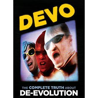 Devo - Devo: Komplett sanningen om De-Evolution [DVD] USA import