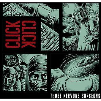 Click Click - Those Nervous Surgeons [CD] USA import