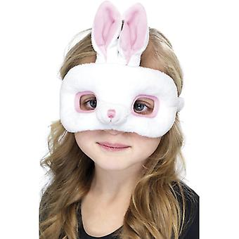 Rabbit mask child animal mask Bunny mask eye mask plush children costume